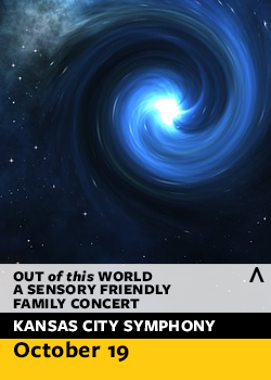 out of this world sensory friendly concert flyer