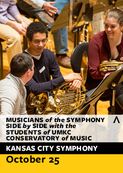 musicians of the symphony flyer