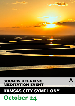sounds relaxing meditation event flyer