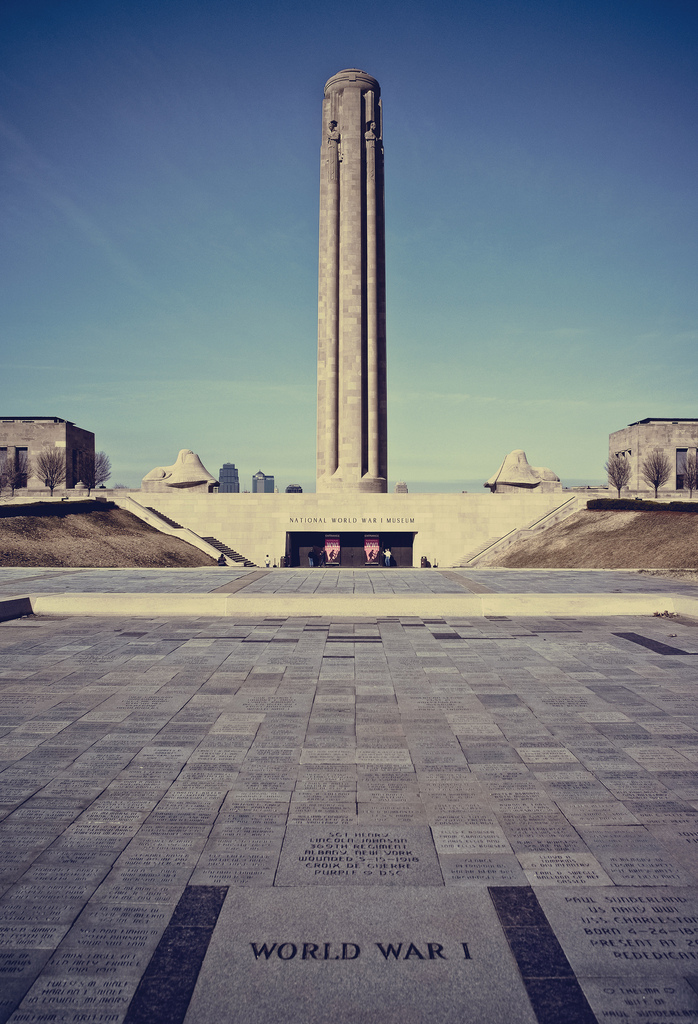 Liberty Memorial at the National World War I Musuem and Memorial. Photo credit: Yuefeng D