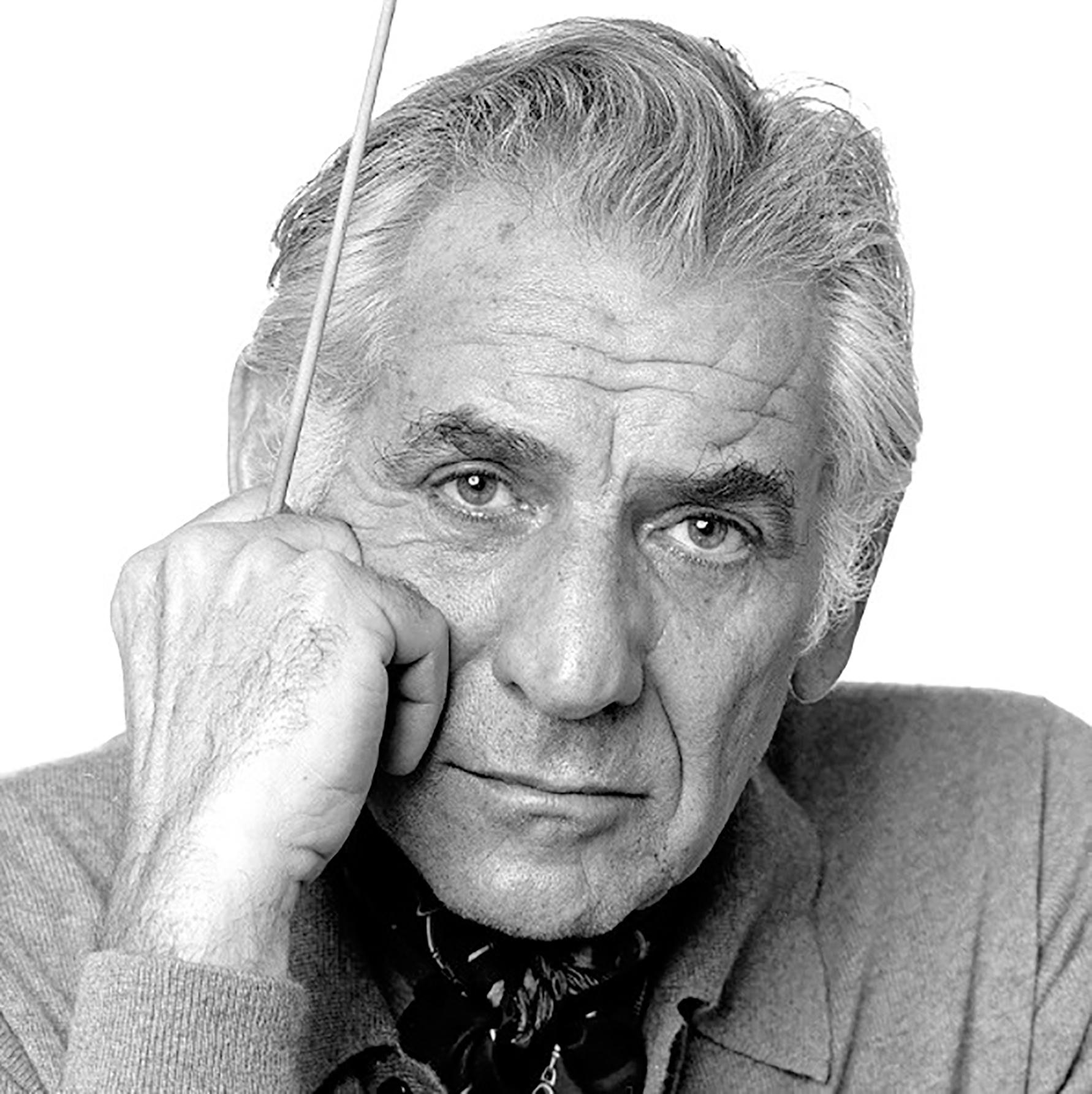 Leonard Bernstein b&w