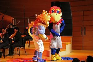 Sluggerrr and Big J at the kc symphony