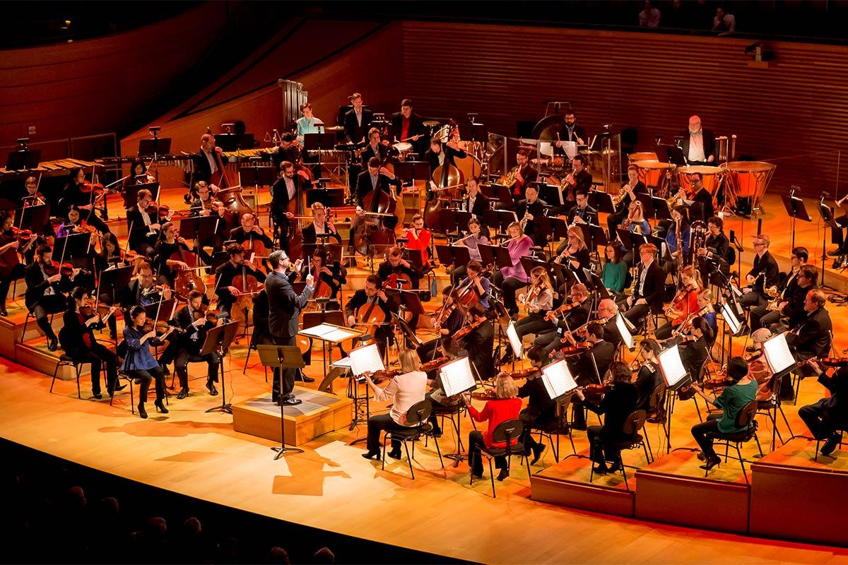 live symphony performance