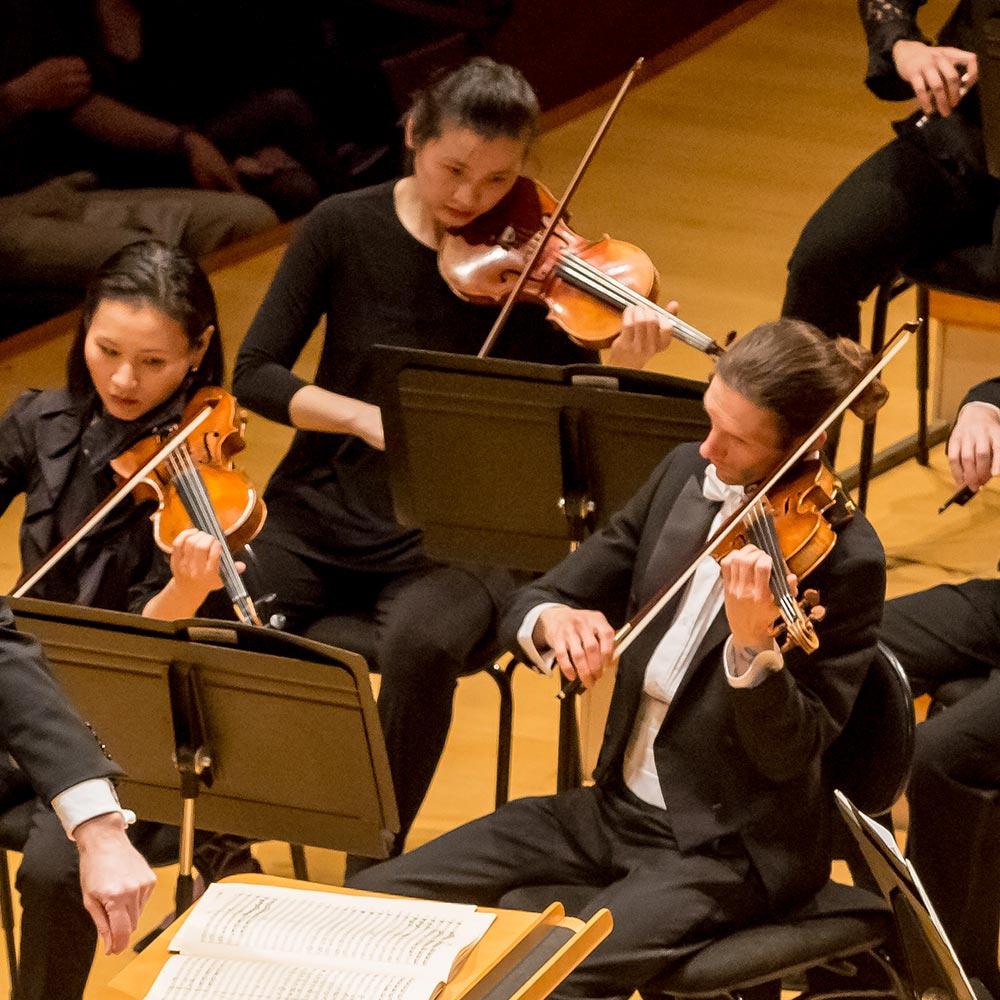 kc symphony violinists
