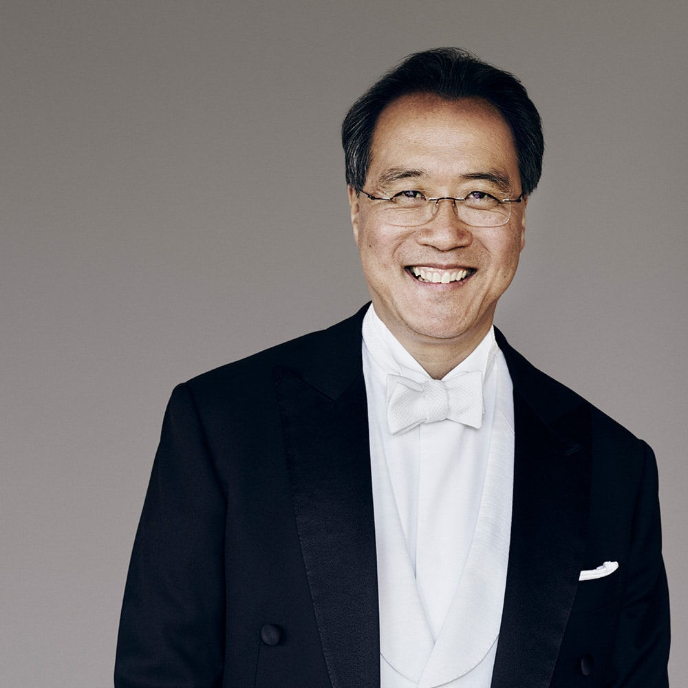Portrait of cellist Yo-Yo Ma