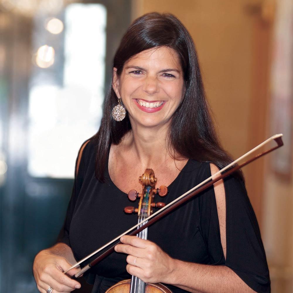 Portrait of Violinist Pamela Frank