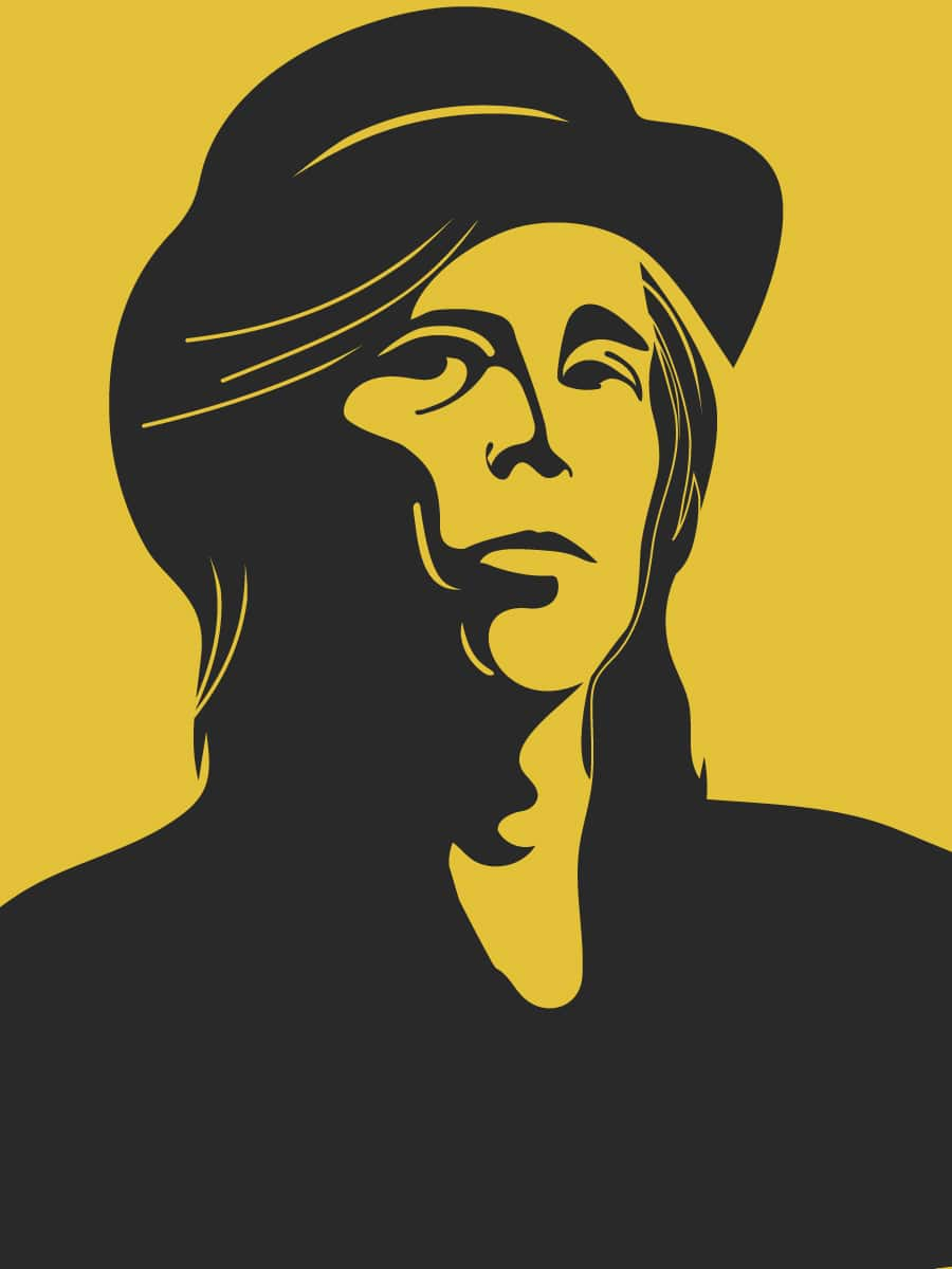 Illustration of Tom Petty