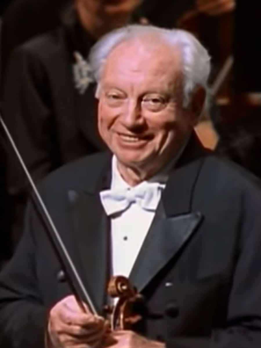 Frame of Isaac Stern from American Masters — Life's Virtuoso