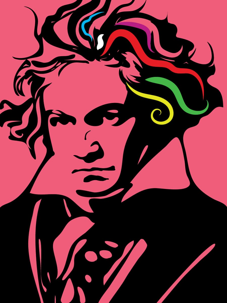 Photo of Beethoven