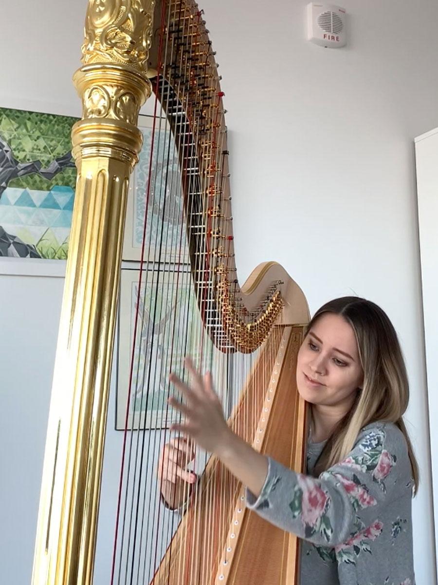 Kansas City Symphony Principal HarpKatherine Siochi